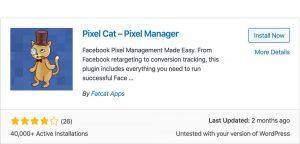 Pixel Cat plugin