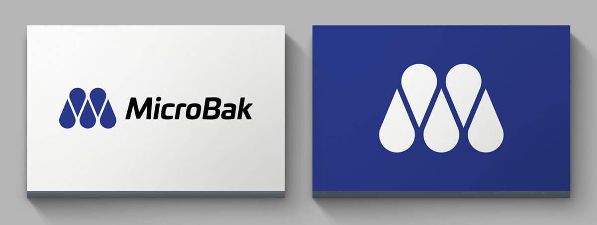 Eksempel på logo design - MicroBak