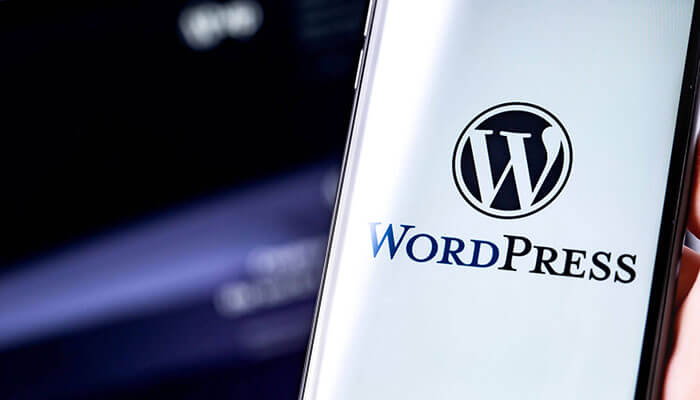 WordPress Serviceaftale baggrundsbillede